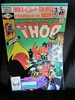 """35+ YRS. OLD 1981 KING Size Annual Comic Bk: """"The Mighty Thor"""" (Dormammu!) #9"""