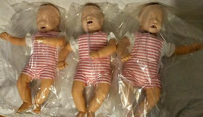 3 Pack Laerdal Baby Anne CPR Training Infant Baby Manikin EMT
