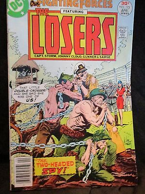 OLD! 1977 $.30 Comic Book: The Fighting Forces featuring the Losers #172