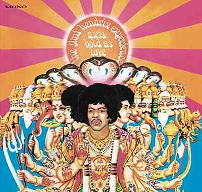 Hendrix-Axis: Bold As Love (Mono)  (Us Import)  Vinyl Lp New