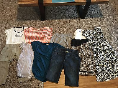 Lot Of 10 Maternity Clothes Size XS-S.