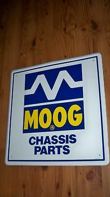 Moog Chassis Parts Metal Sign Vintage Advertising Gas Oil Service Station