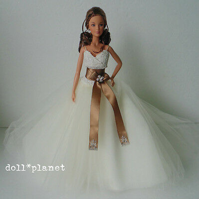 Monique Lhuillier Bride Barbie Doll - Model Muse - Gold Label Designer Bridal
