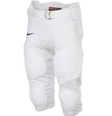 NEW Nike Youth Boys Recruit XXXL Football pants WHITE Removable Integrated pads