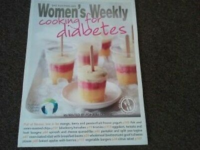The australian women's weekly cooking for diabetics cook book/new/free postage