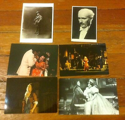 Classical & Opera postcards lot of 6--Caruso, Toscanini, more--New! Unpostmarked