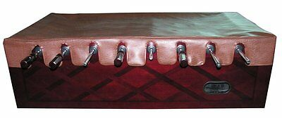 Brown Naugahyde Foosball Table Cover with Free Shipping