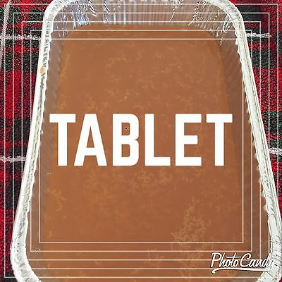 Scottish Tablet Tray Lolly Sweet Confectionery