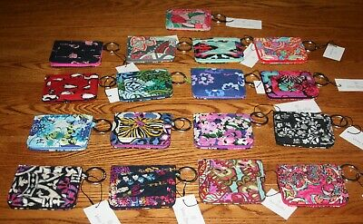 NWT Vera Bradley CAMPUS DOUBLE ID CASE badge or gift card holder small wallet