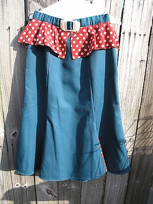 Disney Cast Member Costume Uniform Hollywood Studios Merchandise Skirt prop used