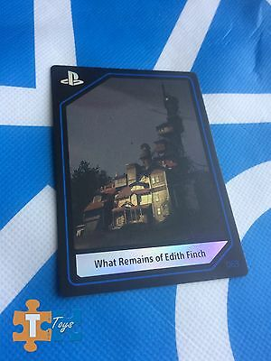 """PlayStation Experience 2016 Anaheim 063 What Remains of Edith Finch Card """"NEW"""""""