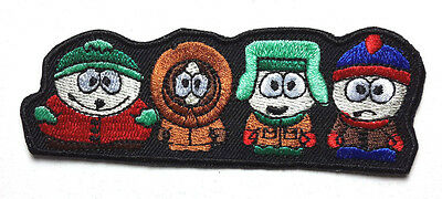 "South Park Cast 4"" Fully  Embroidered Patch- FREE S&H (SOPA-0002)"