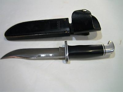 Vintage 119 Buck Knife With Sheath Made 1976 - 1984