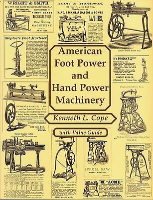Great Book on Hand & Foot Treadle Machines - 135 Pages - Illustrated