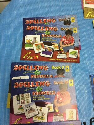 Starter Stile Learning Books Spelling Calculations Numbers phonics...Sale