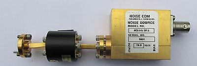 Noisecom NC5115 mmwave AWGN noise source 50-75GHz (V band) with isolator