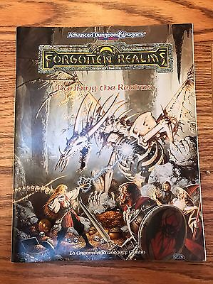 Running the Realms Forgotten Realms Campaign Setting AD&D 2nd TSR 1085, 1993