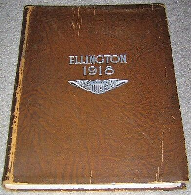 Ellington Field Air Service Training Camp Yearbook 1918 Houston Texas WWI