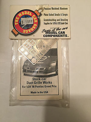 The Model Car Garage MCG-2124 1998 Pontiac Grand Prix photo etch detail set