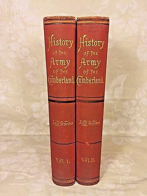 History of the Army of the Cumberland 2 Vols 1875 by Thoms Van Horne 1st Edition