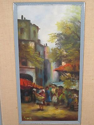 ORIGINAL ILEEN ALaND OIL PAINTING ON BOARD FRAMED AND SIGNED