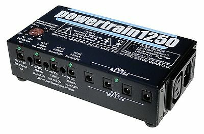 Pedaltrain Powertrain 1250 Power Supply for Pedalboard and Guitar Effects Pedals