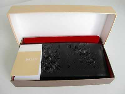 BALLY LEATHER WALLET in BOX