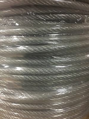 """(200' Roll)- 1/8"""" 7x19 Galvanized Aircraft Cable"""