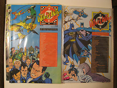 Who's Who 2, Update '88 1-4, 5 books! Perez cover, full of pinups and bios!