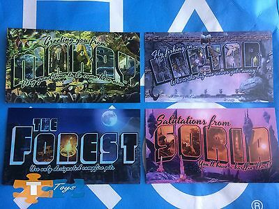"PlayStation Experience 2016 Anaheim Obduction Promotional Post card Set ""NEW"""