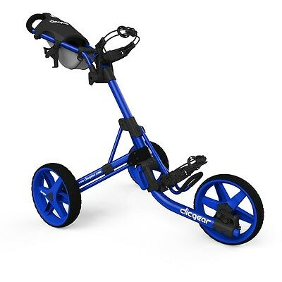 New Clic Gear Model Clicgear 3.5+ Golf Push Cart - Blue/blue