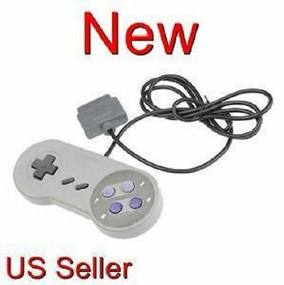 NEW 16 Bit Controller for Super Nintendo SNES System Brand New