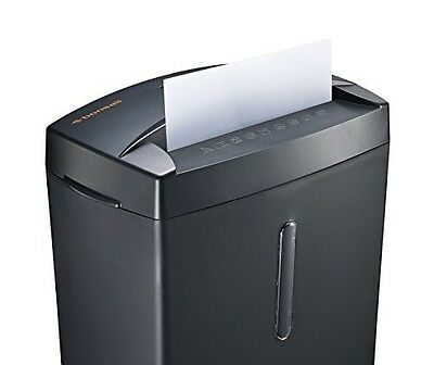 Home Paper Shredder Office Micro Cut Thermal Protection Office Cut Paper Black