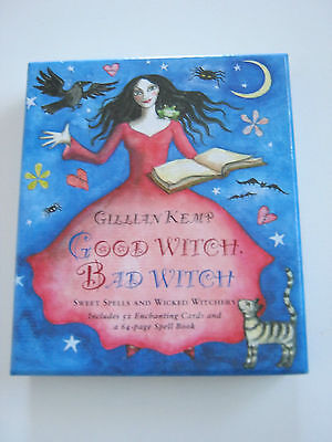 Good Witch Bad Witch - enchanting cards and spell book boxed items