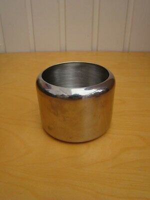 Stainless Steel Small Sugar Jam Preserve Bowl 7x9 cms 18/8
