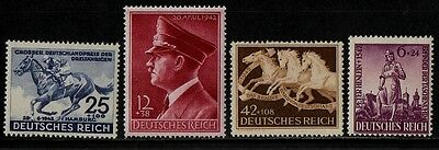 1942 GERMANY WAR STAMP(hitlers culture fund,henlein)(LMM & MNH) S.G.803-805,809
