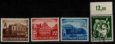 1941 GERMANY WAR STAMP(fair & stamp day)(F.USED & MNH) S.G.750,752,754,755