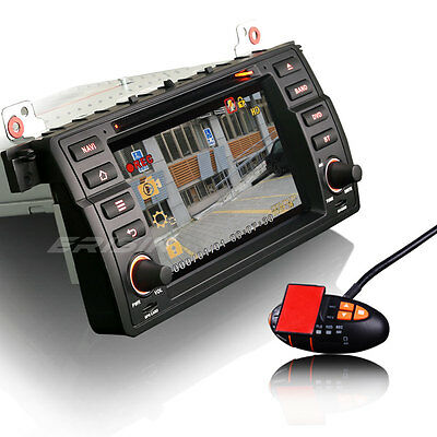 autoradio gps 1 din cd dvd lecteur 3G TNT-IN bmw e46 m3 3er MG Rover 75 7146BGF