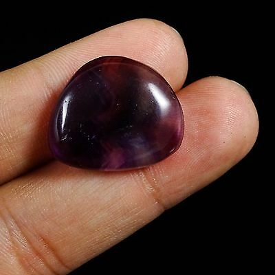 26.10 CtS 100% Natural Magnificent Amazing Striped Fluorite Cabochon Gemstone