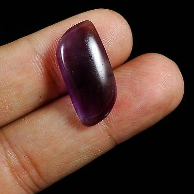 18.45 CtS 100% Natural Beautiful Top Quality Purple Fluorite Cabochon Gemstone