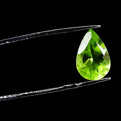1.40 CtS 100 % Natural Green Peridot Super Quality Loose Faceted Superb Gemstone