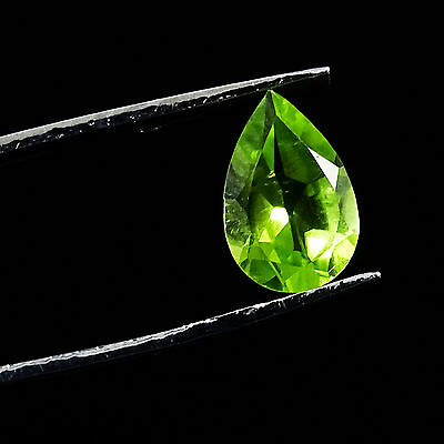 1.10 CtS Natural Magnificent Green Peridot Top Quality Loose Faceted Gemstone