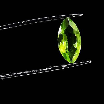 1.10 CtS 100% Natural Beautiful Superb Green Peridot Loose Faceted New Gemstone