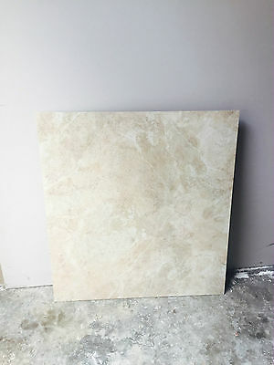 travertine 600x600 thin porcelain floor or wall tile 5.5mm thick $30/m2