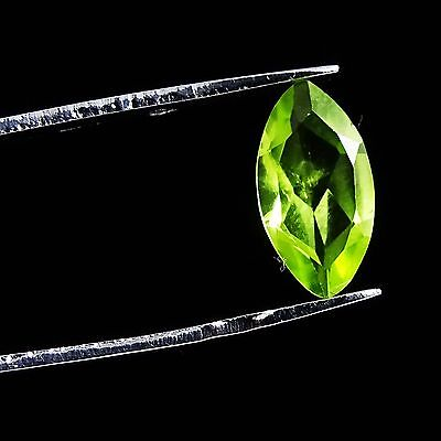 1.10 CtS Exclusive Magnificent Green Peridot Semi Precious Faceted Gemstone