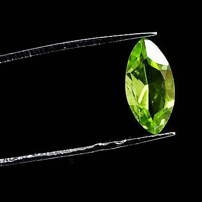1.15 Cts 100% Natural Good Quality Green Peridot Faceted Loose Amazing Gemstone
