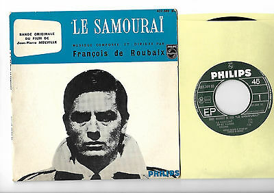 DE ROUBAIX Le Samourai top rare '67 French EP OST  - More great 45s in my shop !