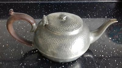 TRADE CIVIC MARK PEWTER 1011 Made in England TEA POT