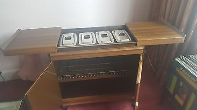 retro chique hostess trolley be the hostess with the mostest