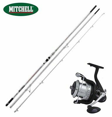 KP2209 Kit Surfcasting Canna Avocet Powerback 450 + Mulinello Silver Lc 70 CSP